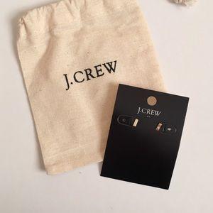 J. Crew Gold Stud Earrings